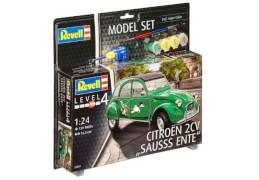 REVELL Model Set Citroën 2CV Sausss