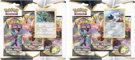 Pokémon Schwert & Schild 02 Clash der Rebellen 3-Pack Blister