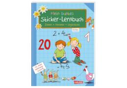 Schlau für die Schule: Mein buntes Sticker-Lernbuch: Zahlen, Rechnen, Logikrätse